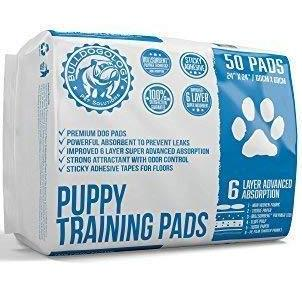 puppy pee training pads with adhesive sticky