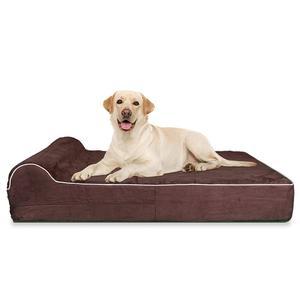 deluxe orthopedic high grade memory foam dog bed