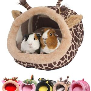 JanYoo Guinea Pig Bed Accessories Cage House