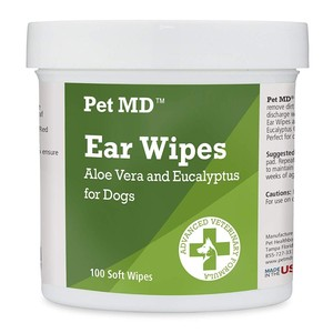Ear Wipes with Aloe Vera for Dogs