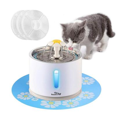Beacon Pet 85 oz Stainless Steel Pet Water Fountain