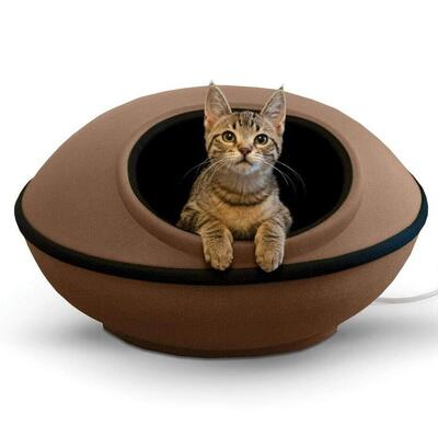 K&H Pet Products mod dream pod cat bed available in heated and unheated styles