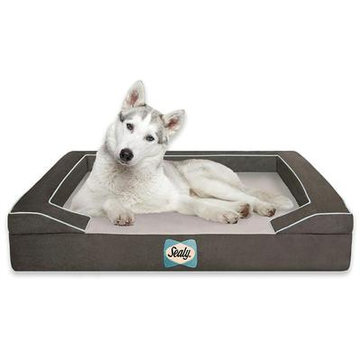 Lux Quad Element Orthopedic Dog Bed with Cooling Gel and Washable Cover by Sealy Dog Bed