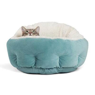 OrthoComfort Deep Dish Cuddler Cat Bed by Best Friends by Sheri