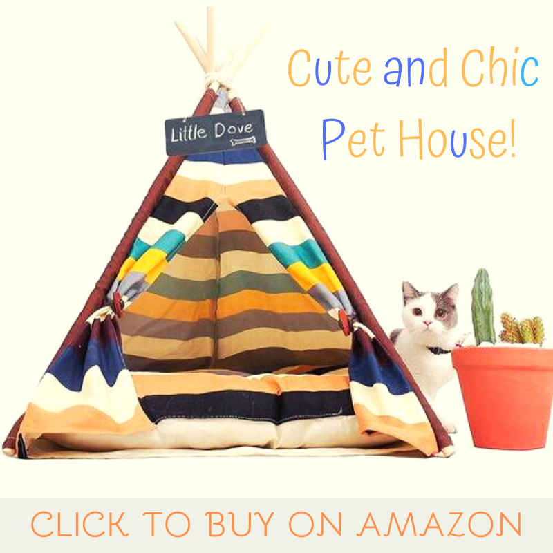 cute and chic pet house by little dove