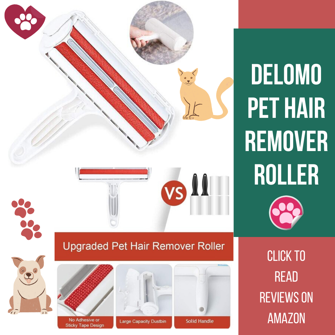 DELOMO Pet Hair Remover Roller