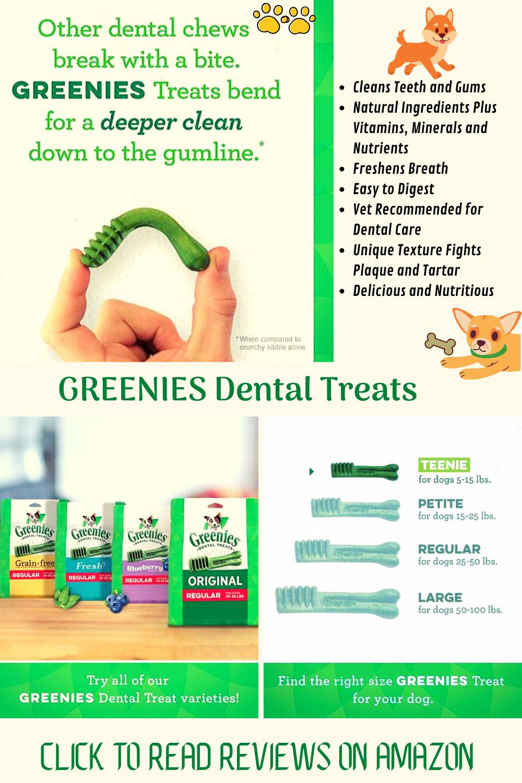 Vet Recommended Greenies Original Dental Treats
