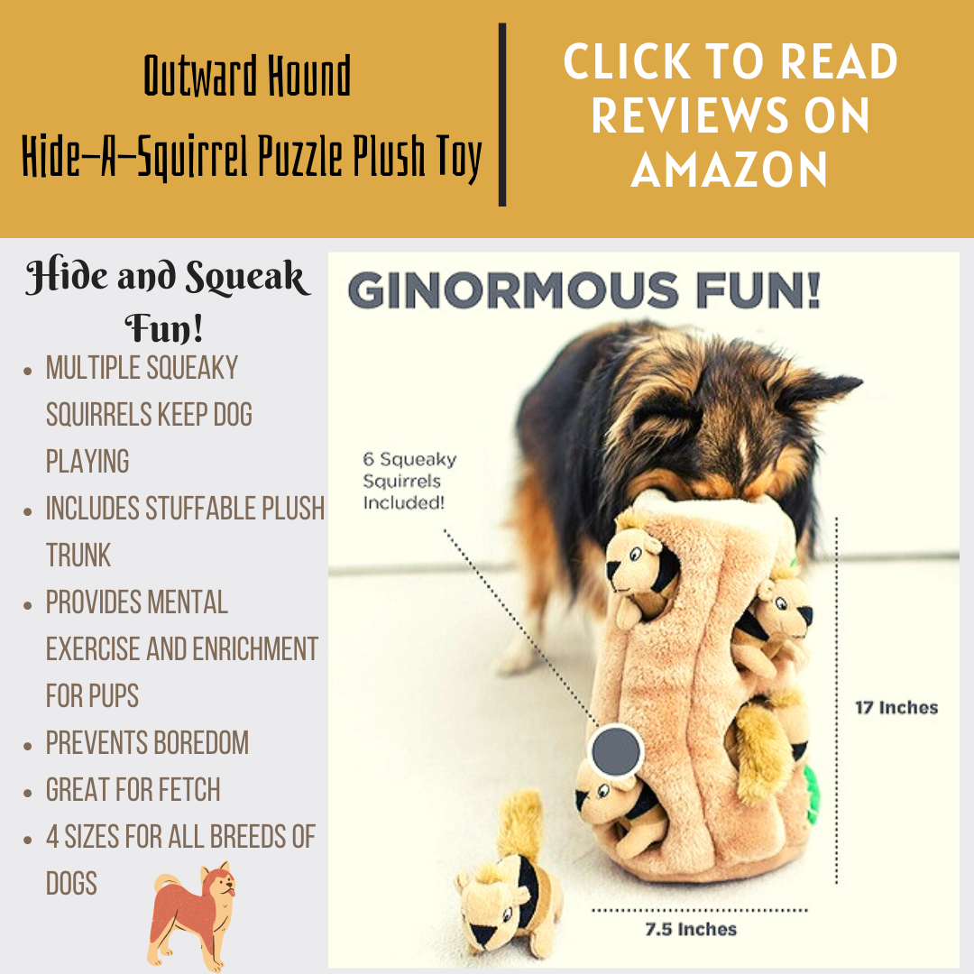 Hide and Seek Interactive Dog Toy