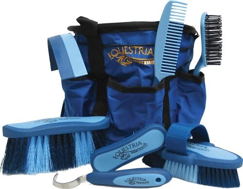 Equestria 8 Piece Grooming Set for Horses