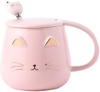Angelice Home Cute Cat Mug