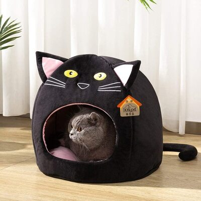 Hollypet cat shaped bed for Cats