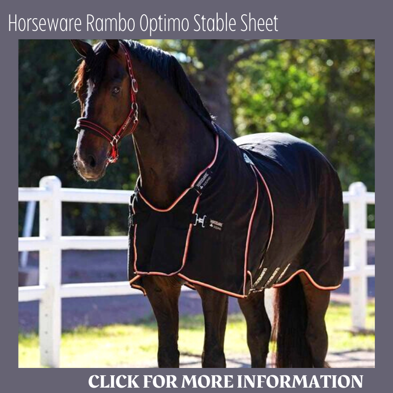 Horseware Rambo Polyester Stable Sheet Horse Blanket